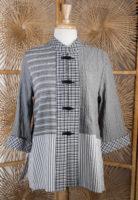 Mandarin Collar Blouse by Moonlight