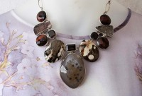 Elligators Gemstone Necklace