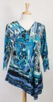 """""""Lisa"""" Asymmetrical Hemmed Top by Parsley and Sage"""