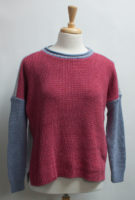 """""""Albany"""" Relaxed-fit Color block Sweaters by """"Parkhurst"""" (2 colors)"""