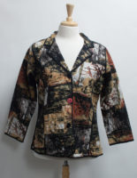 """Beautiful Fall Colored Reversible Jacket by """"Parsley and Sage"""""""