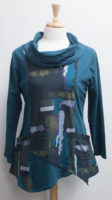 """""""Cera"""" Cowl Tunic by """"Parsley and Sage"""""""