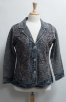 """Topstitched Cotton Jacket by """"Parsley and Sage"""""""