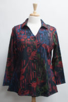 """Reversible """"Meadow"""" Blouse by """"Parsley and Sage"""""""