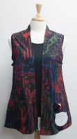 """REVERSIBLE """"Meadow"""" Vest by Parsley and Sage"""