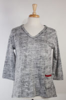 "REVERSIBLE ""Rosemary"" Pullover Top by Parsley and Sage"