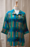 """Versatile Tunic Length Blouse by """"Parsley and Sage"""""""