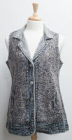 """Cotton """"Vanna"""" Long Vest by """"Parsley and Sage"""""""