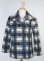 Plaid Jacket by Karen Hart
