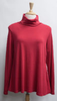 """Long Sleeved Swing Turtleneck by """"Prairie Cotton"""" (4 colors)"""
