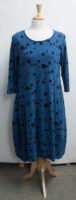 """Dotted Tulip Dress by """"Prairie Cotton"""" (2 colors)"""