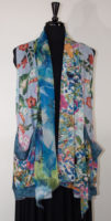 Sheer Floral Vest by Shana (2 Colors)