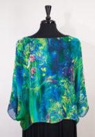 Jeweltone Silk Topper by Simply Silk