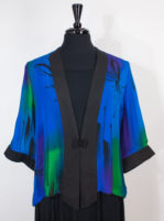 Jeweltone Jackets with Frog Closure by Simply Silk (4 prints)