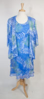 Tea Length 2-piece Dress by Simply Silk
