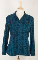 Tencel - Long Sleeved Print Blouse