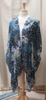 "Blue and Black Kimono by ""Vivante"""