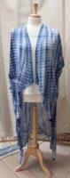 """Blue Tie Dye Kimono by """"Vivante"""""""