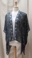 "Embroidered Black Kimono by ""Vivante"""