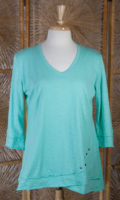 Cotton Tunic Top by Wild Palms (3 colors)