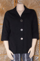 3/4 Sleeve Cotton Jacket by Wild Palms