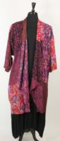 Wild Woman One Size Patchwork Kimono (7 New Colors)