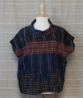 """Handwoven Pullover Top with Pockets by """"Zumi"""" - 2 colors"""