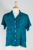 Anna Ocean/Magie B - Short Sleeve Camp Shirt (4 Colors)