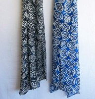 Asian Eye Scarf - Spiral