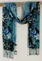 Asian Eye Scarf - Floral (2 Colors)