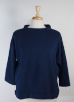 """Alden"" Fleece Bamboo and Organic Cotton Pullover by bryn Walker (2 colors)"