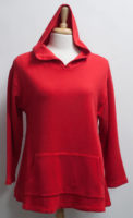 """FLEECE HOODIES! Bamboo and Organic Cotton by """"bryn Walker"""" (3 colors)"""