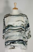 bryn Walker - Resort Shirt Stone Print