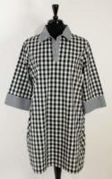 Christopher Calvin - Black & White Check Dress/Tunic