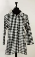 Christopher Calvin - Black & White Check Shirt