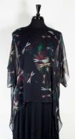 Cocoon House - Silk Topper - Dragonflies