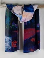"Cocoon House Silk Scarf - ""Cezanne"""