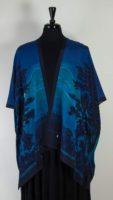 Cocoon House - Open Silk Kimono - Moonlight