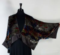 Cocoon House - Cropped Velvet Sheer Jacket