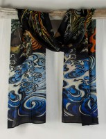 """Cocoon House Soft Wool Scarf - """"Imperial"""""""