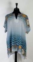 Citron - Oversized Tunic Soft Blue