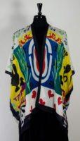 Cocoon House Open Silk Kimono - Scheher Azade