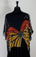 Cocoon House Silk Topper (short) - Monarch