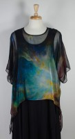 Cocoon House Sheer Silk Topper - Galaxy