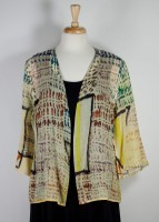 Cocoon House Light Wool Open Jacket - Yellow