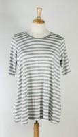 Comfy USA Modal, Elbow-Sleeve Simple Tunic (4 Colors)
