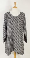 Flax - Social Tunic - Coal Dot