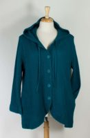 Focus - Hooded Cotton Waffle Jacket (2 Colors)
