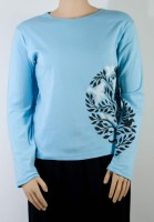 """green 3"" Organic Cotton Long-sleeve (2 Colors)"