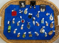 Assortment of Pendants - precious stones